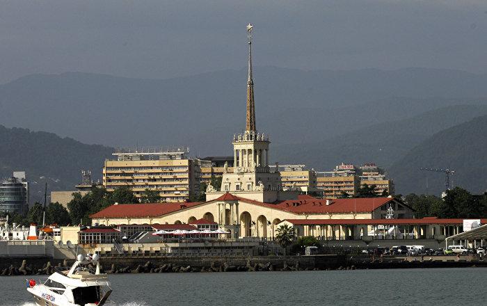 Estação Marítima em Sochi