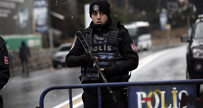Policial turco.