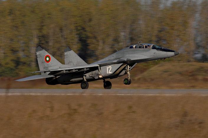 MiG-29 da Força Aérea da Bulgária