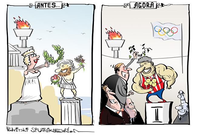 Onde está espírito olímpico, COI?