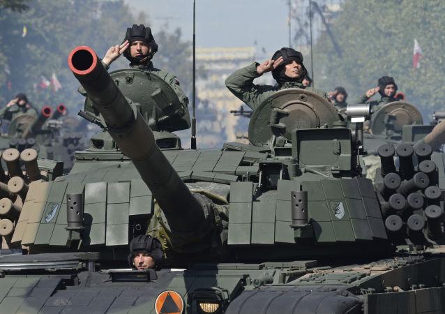 Parada militar no Dia do Exército da Polônia