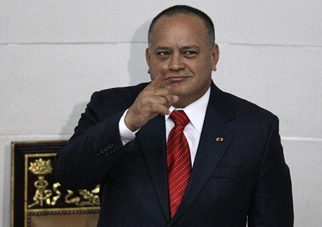Diosdado Cabello em 2013