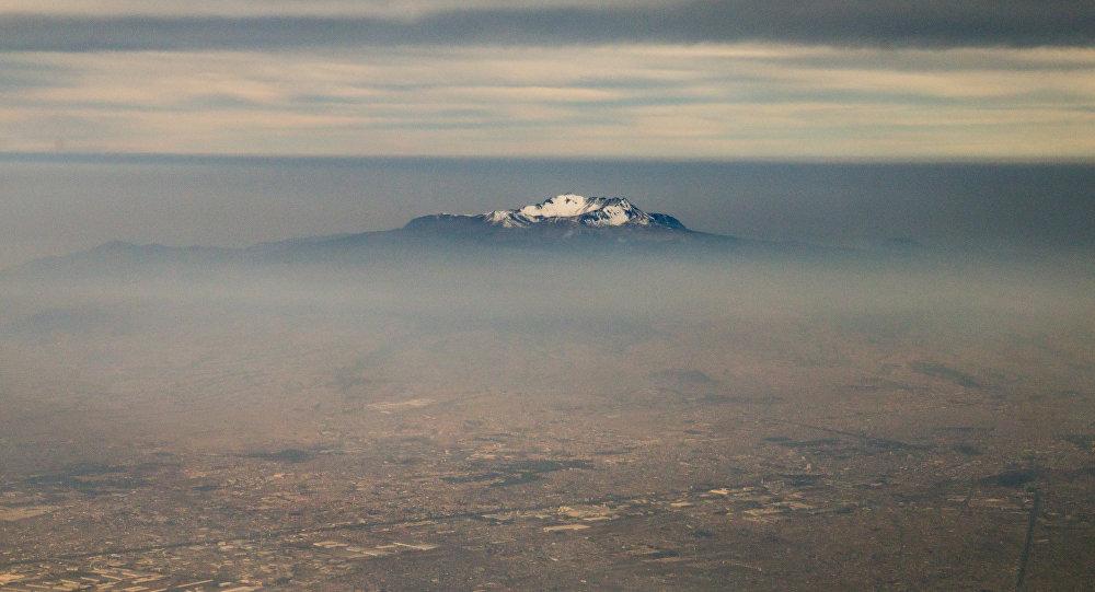 Pico Orizaba, no limite entre os estados de Puebla e Veracruz, é a maior montanha do México