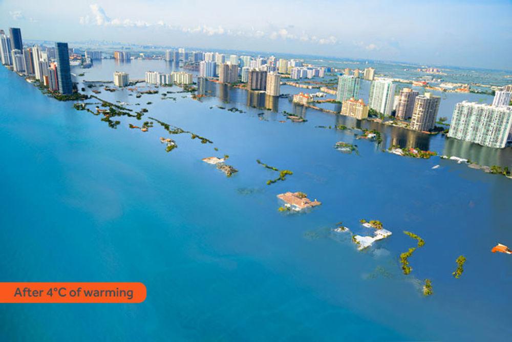 Miami Beach nem teria mais praias