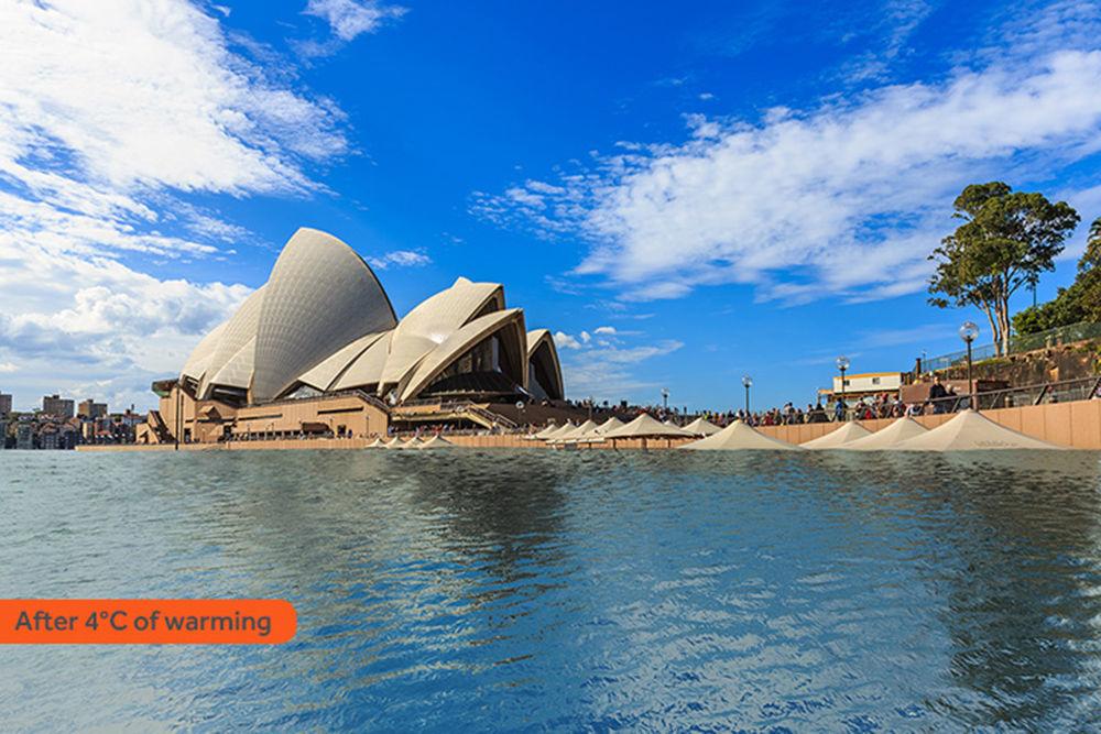 Tal vista passaria a ter a cidade mais populosa da Austrália, Sydney