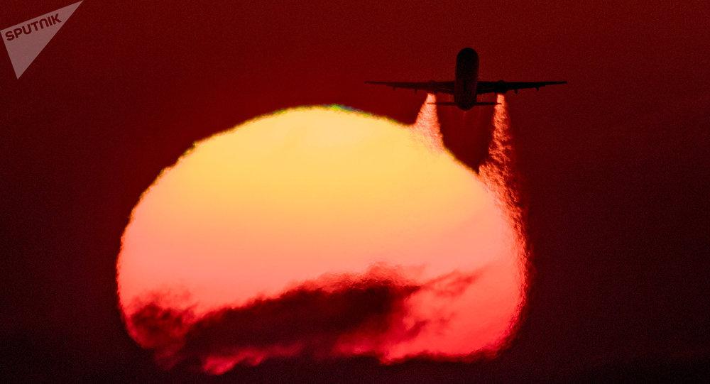 Airbus A-321 da companhia aérea russa Aeroflot