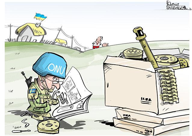 Suecos já escolheram onde montar brinquedos militares
