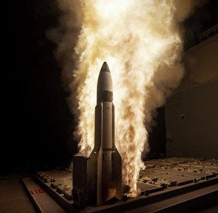 Ensaio do míssil interceptor SM-3 (foto de arquivo)