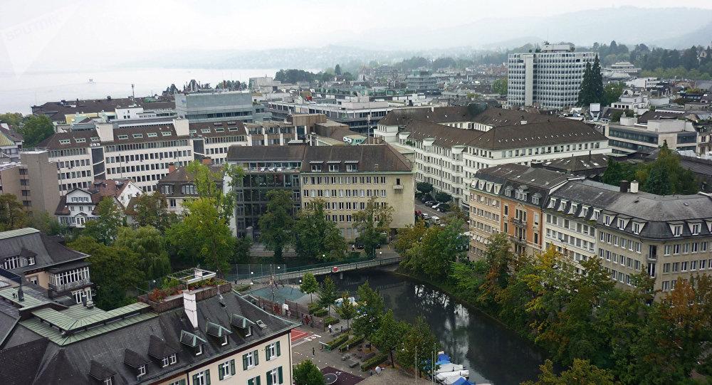 Suíça. Duas pessoas baleadas mortalmente à porta de banco em Zurique