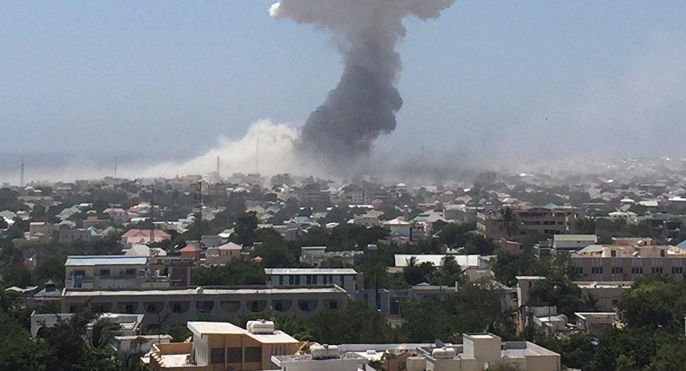Explosões e tiroteio em região da residência presidencial da Somália