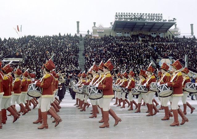Olimpíadas de Inverno entre os povos da URSS, na cidade de Ekaterinburgo (foto de arquivo)