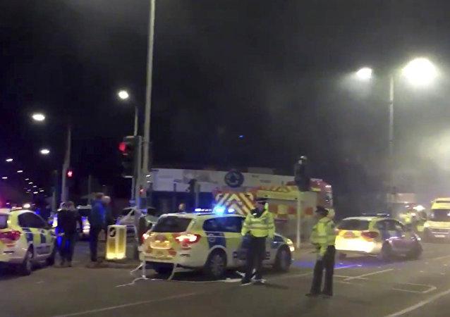 Explosão em Leicester.