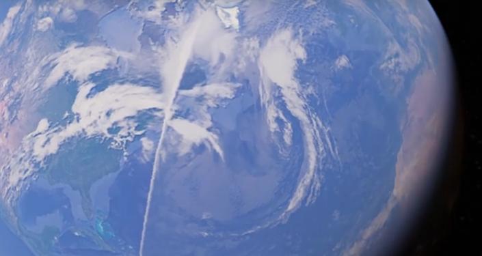 Algo inimaginável cruza a Terra e Google Earth encontra isso