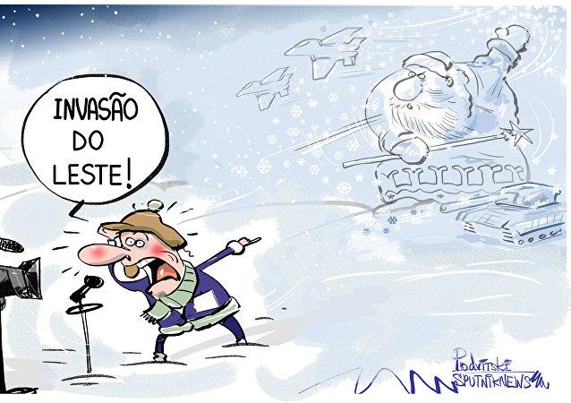 Muito conveniente culpar Rússia por tudo