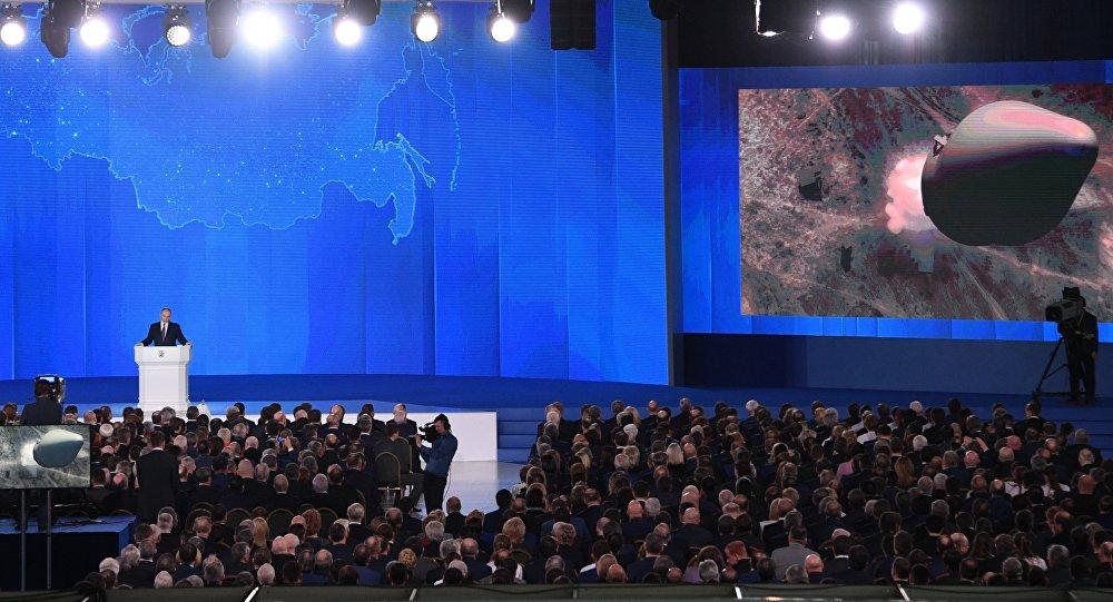 Putin anuncia arma nuclear