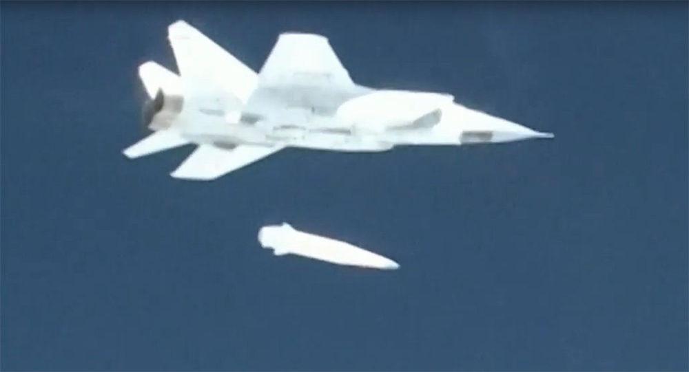 Teste do novo sistema de mísseis hipersônicos para aviação Kinzhal