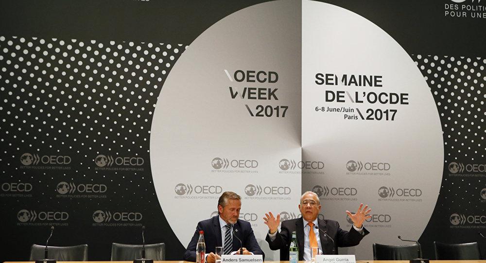Evento da OCDE - Organização para a Cooperação e Desenvolvimento Econômico