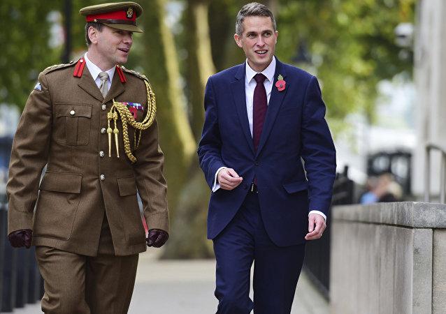 Gavin Williamson, secretário de Defesa do Reino Unido