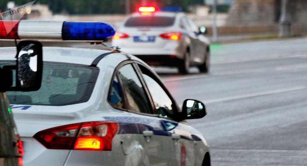 Veículos da polícia russa