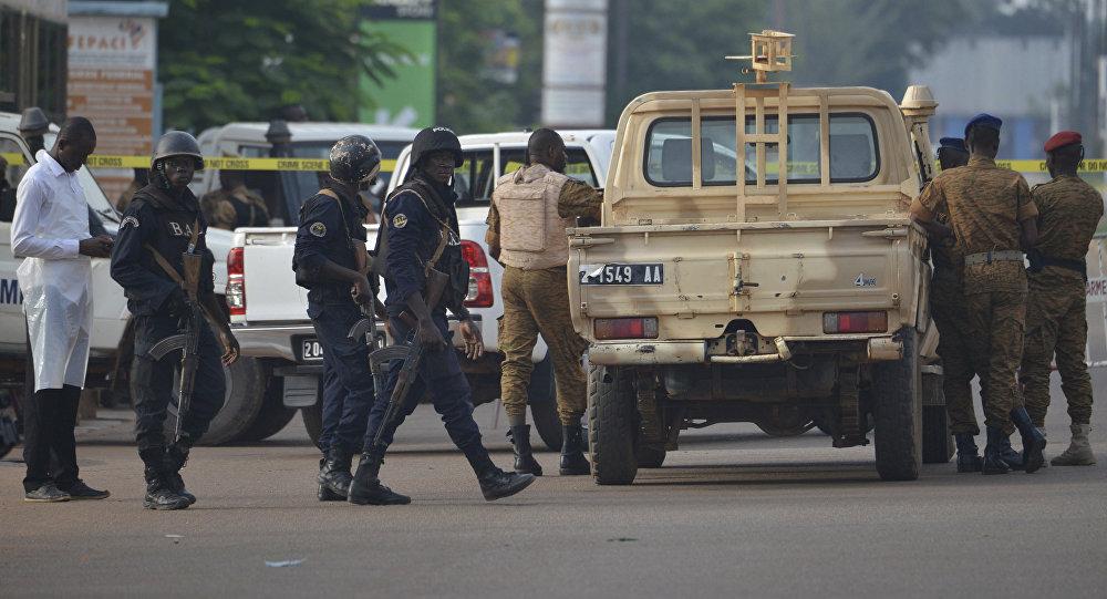 Forças de segurança em Ouagadougou, Burkina Faso (arquivo)