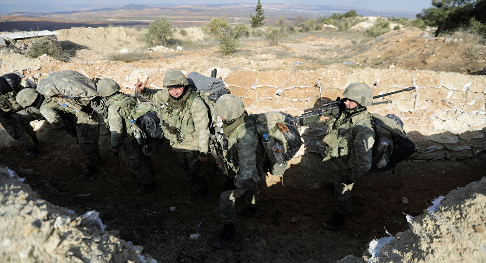 Exército turco em Afrin