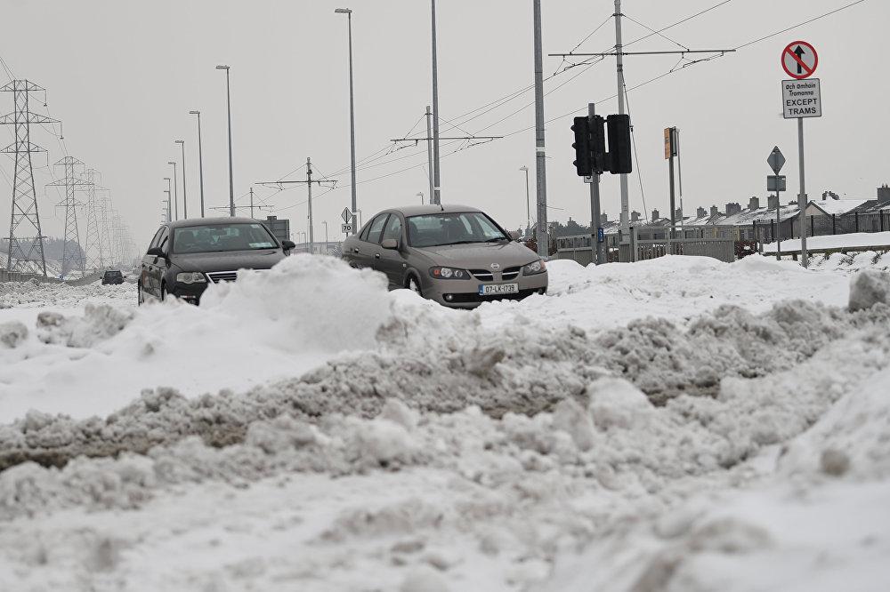 As estradas do país ficaram extremamente perigosas, afirmou o Governo.
