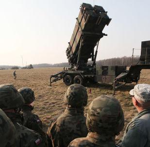 Soldados dos EUA perto do complexo antimíssil Patriot na Polônia, arquivo
