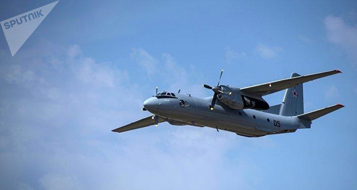 Um avião russo cai na Síria