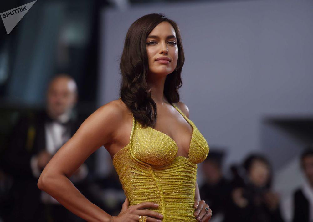 Modelo Irina Shayk no 70 º Festival de Cannes