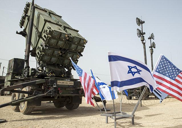 Sistema antimíssil norte-americano Patriot participa dos treinos conjuntos dos EUA e Israel, Juniper Cobra 2018, 8 de março de 2018