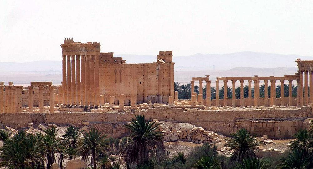 Templo de Bel, em Palmira, na Síria.