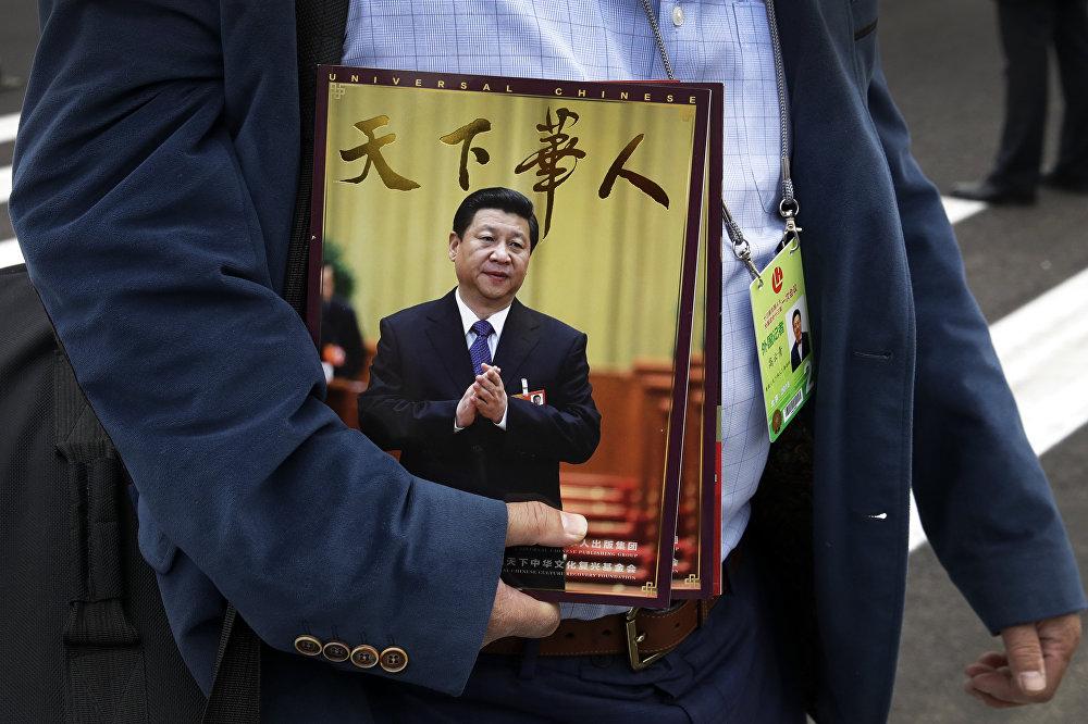 O presidente chinês em mais uma capa de revista.