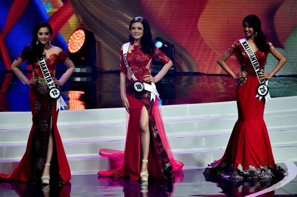 Finalistas do concurso Miss Indonésia 2018