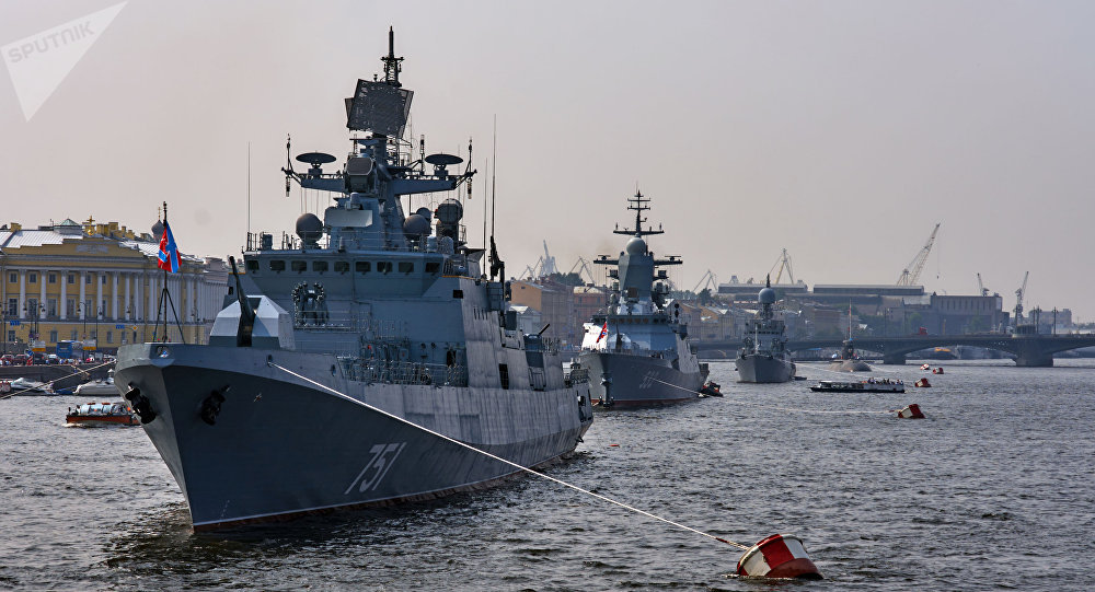 Fragatas Admiral Essen, foto de arquivo