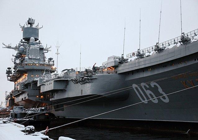 Porta-aviões russo Admiral Kuznetsov