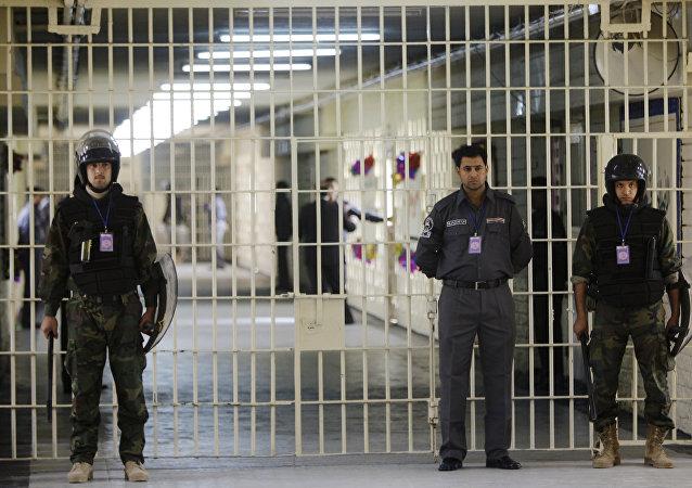 Guardas na prisão de Abu Ghraib, Iraque (foto de arquivo)