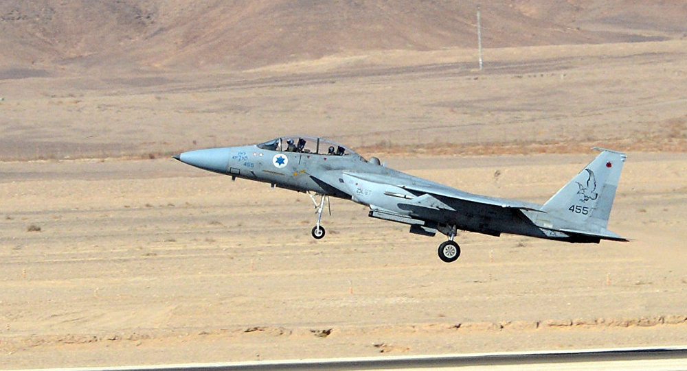 Caça F-15 da Força Aérea Israelense