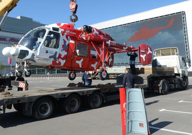 O Kamov Ka-226T é um helicóptero russo capaz de realizar diversos tipos de missão e sua tecnologia está sendo negociada com a Índia.