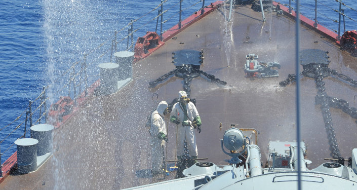 Russian-Chinese drills Joint Sea-2015 in Mediterranean