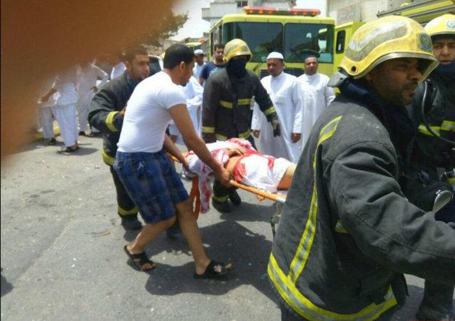 Vítimas de ataque suicida contra mesquita em Qatif, na Arábia Saudita, em maio de 2015