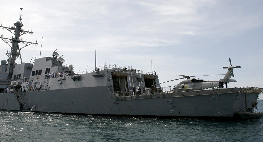 Destróier norte-americano USS Mustin