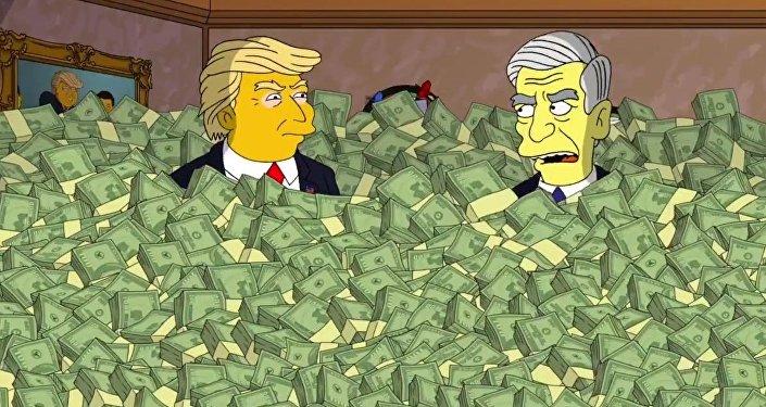 Os Simpsons - Robert Mueller se encontra com o presidente Donald Trump