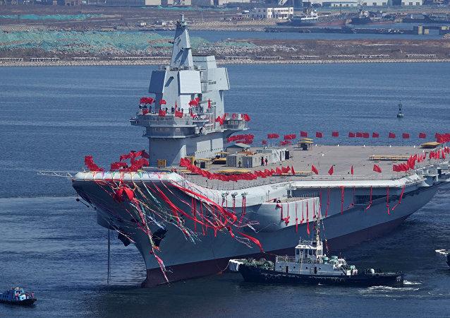 Type 001A, o segundo maior porta-aviões da China