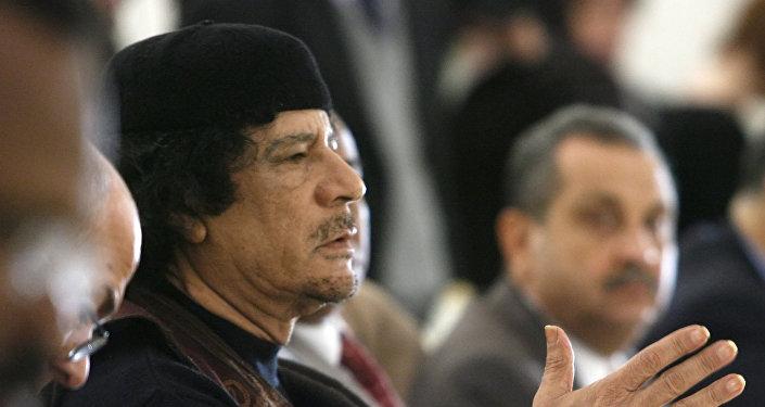 Ex-líder da Líbia, Muammar Kadhafi