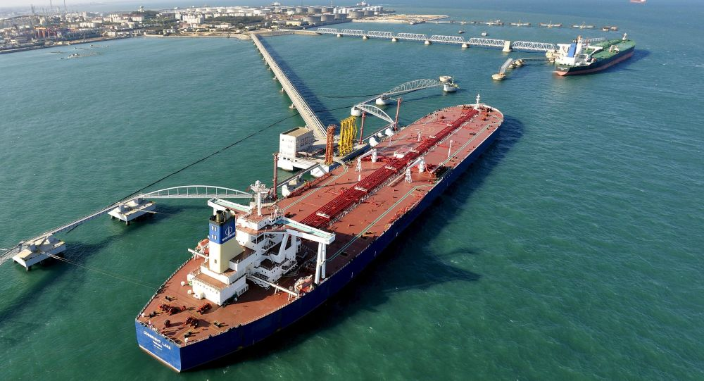 Сidade portuária de Qingdao (imagem referencial)