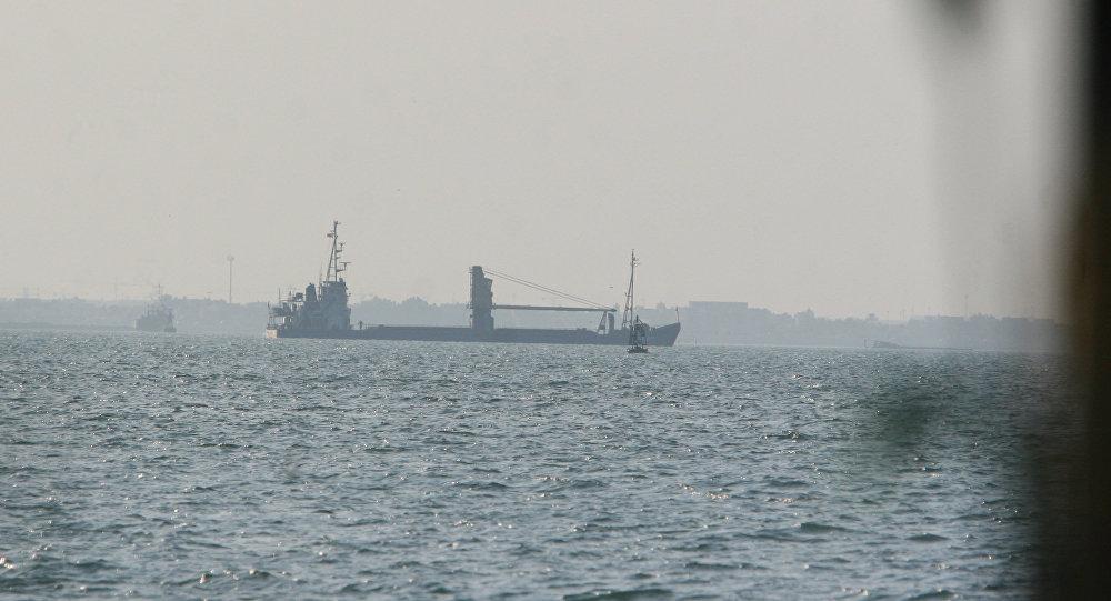 Navio-petroleiro no golfo Pérsico (imagem referencial)