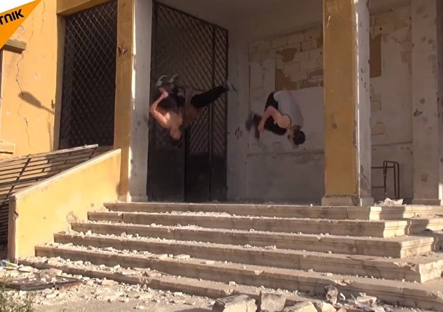 Syrians Perform Amazing Stunts on the Streets