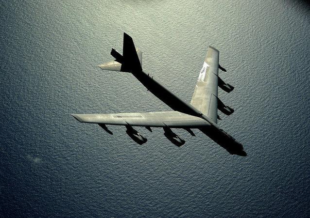 Bombardeiro estratégico americano B-52 Stratofortress