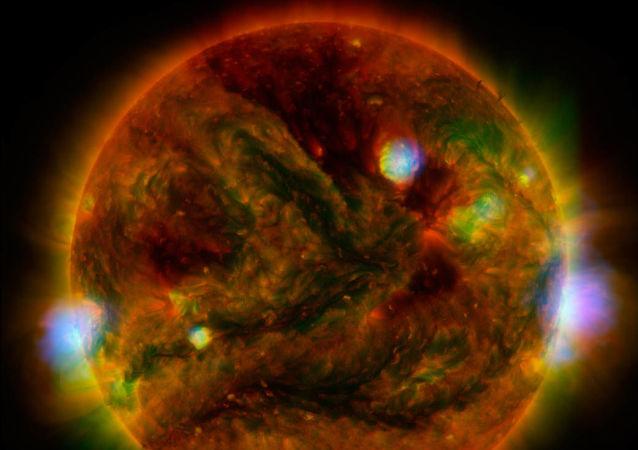 Erupções solares