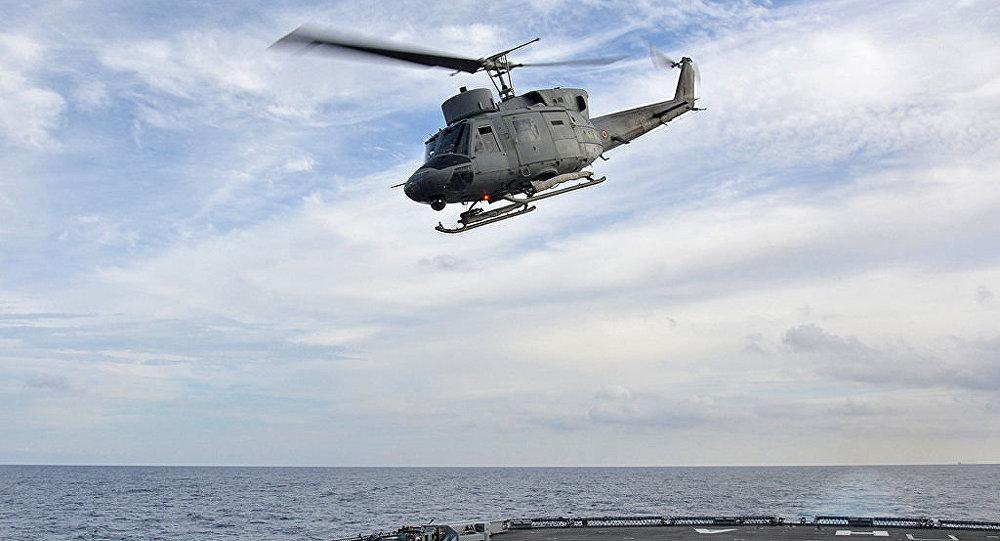 Helicóptero italiano SH 212
